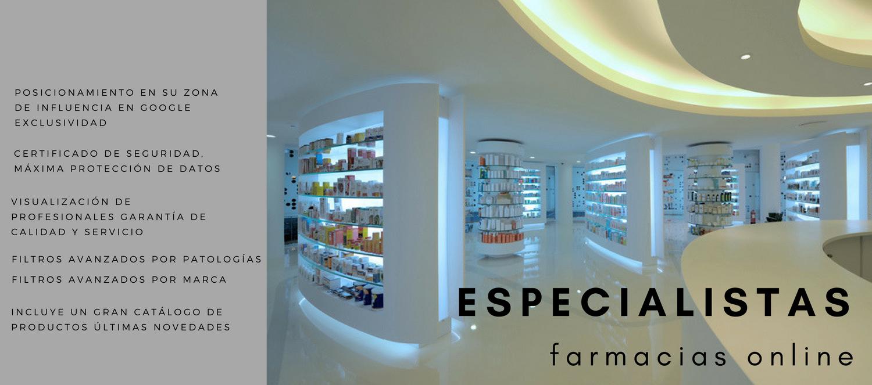 Farmacia online, Tienda online farmacia